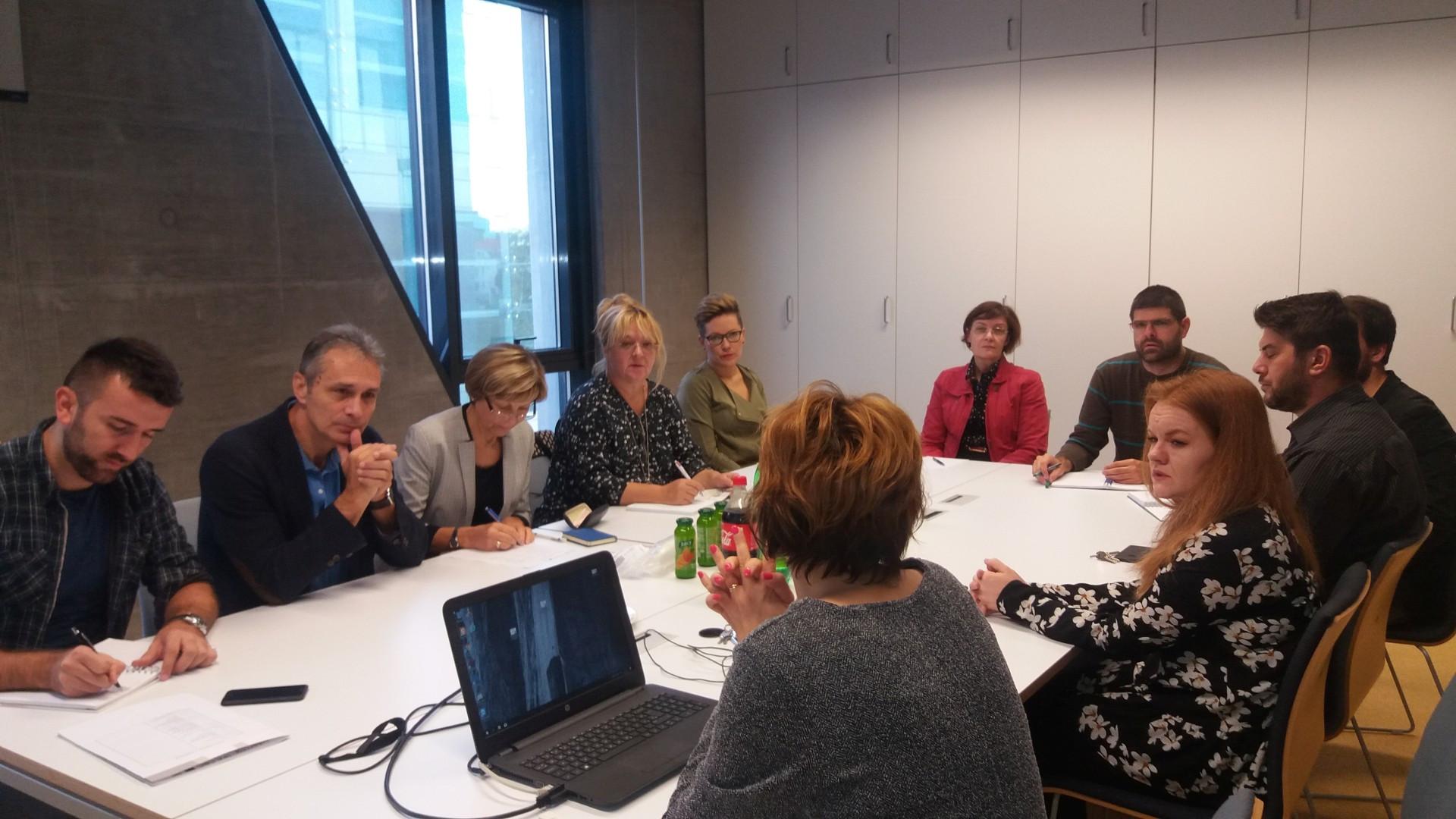Koordinacija i komunikacija između partnerskih organizacija